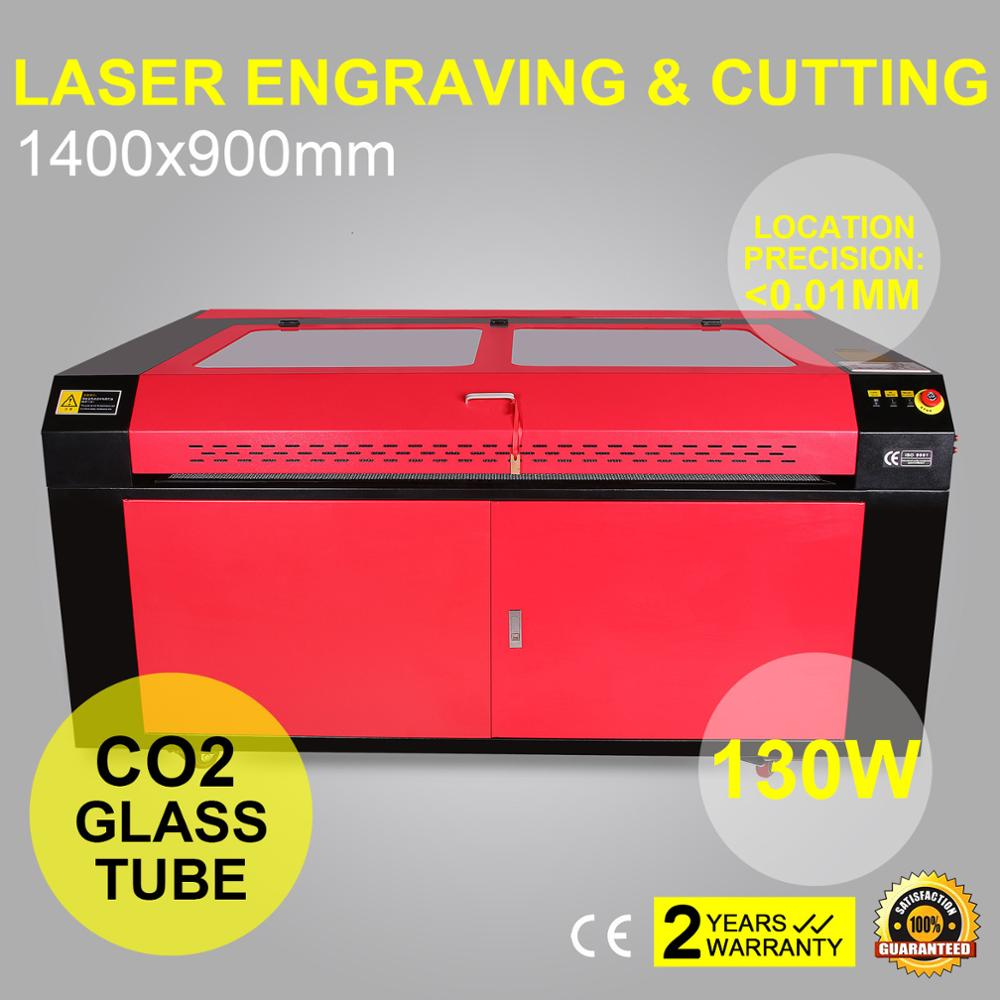 Wholesale 1400X900MM USB PORTABLE 130W CO2 LASER ENGRAVING MACHINE