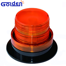 12v-110v amber blinking marine patrol vehicle light emergency flashing beacon with wires control