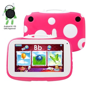 "7"" kids tablet Quad core with wifi and camera and games Android Kids Tablet"
