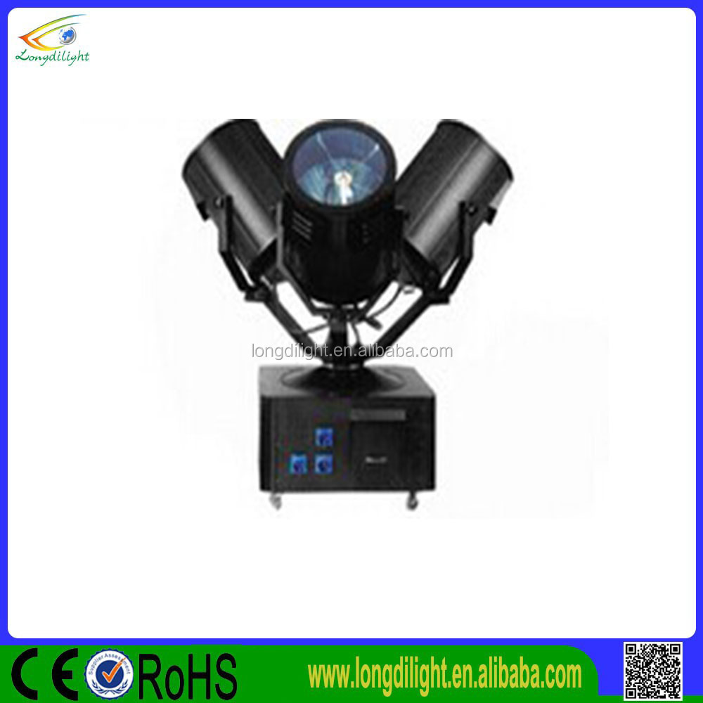 6KW 3 heads search light/sky beam light/6KW sky search light