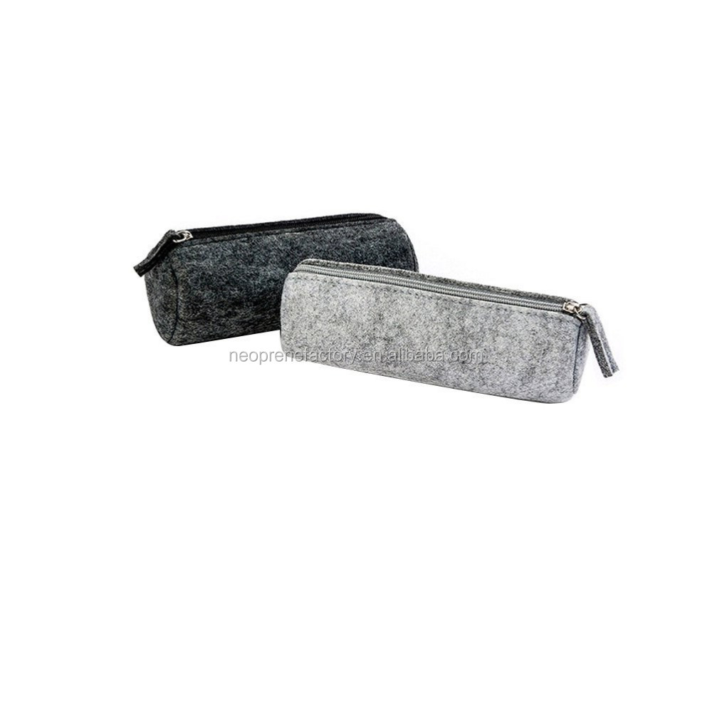 High Quality Woolen Felt Pen Case
