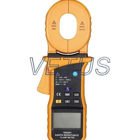 YH301YH-301 Clamp 3700V Digital Earth Resistance tester hot sale low price