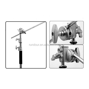 Studio Photo Equipment Light Stand 3.3M Pro Compact Light Support C Type C-Stand for Outdoor Photography