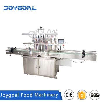 Full-Automatic oil bottle filling and capping machine