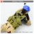New arrival kids 2CH rc crawling toy soldier with light and music
