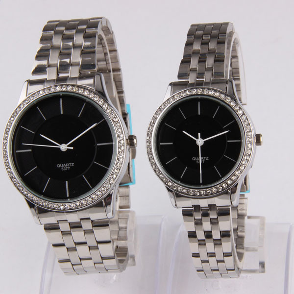 Japan Movt Stainless Steel Back Quartz Watch 2035