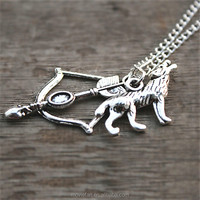 Teen Wolf McCall necklace Vision 2 jewelry silver antique jewelry