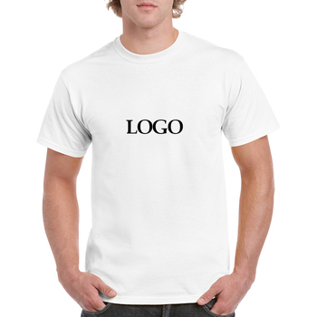 Cheap Price 100% Cotton Custom LOGO Printing Plain White T shirts for Men