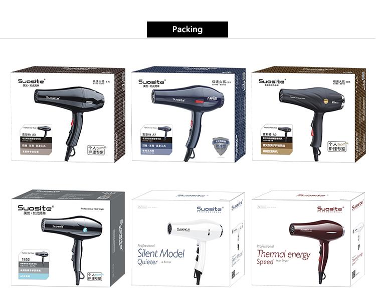 Fashional Nuovo Disegno professionale dei capelli salon asciugacapelli