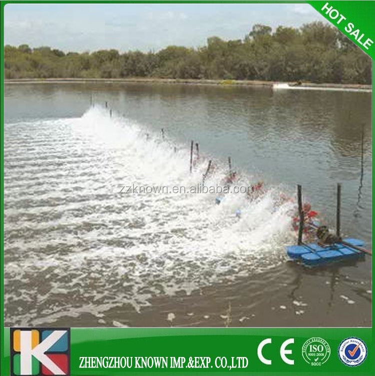 2hp fish pond aerator cheap paddle wheel aerator fish for Used koi pond equipment sale