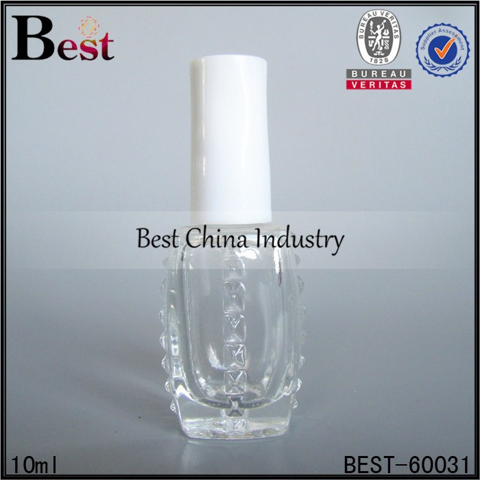 10ml nail polish bottles white cap; hot sale perfume oil bottles in dubai; best-selling glass bottle in UAE