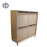 genuine leather cover steel cabinet design manufacturer for high quality kitchen cabinets