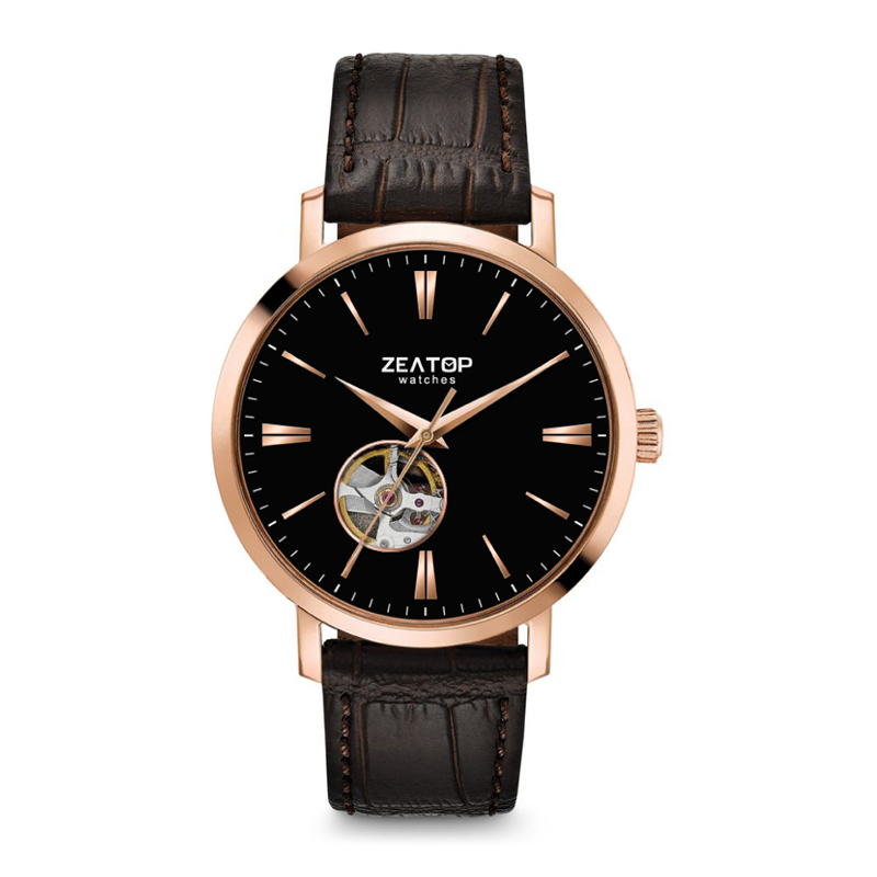 Men Casual Business Leather Strap Watch Men's Relogio gift Male Calendar Wristwatch