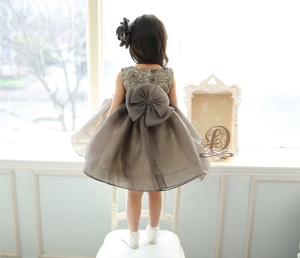 OEM Design Welcomed Children Gown Fashion Frocks Design Party Dress Kids