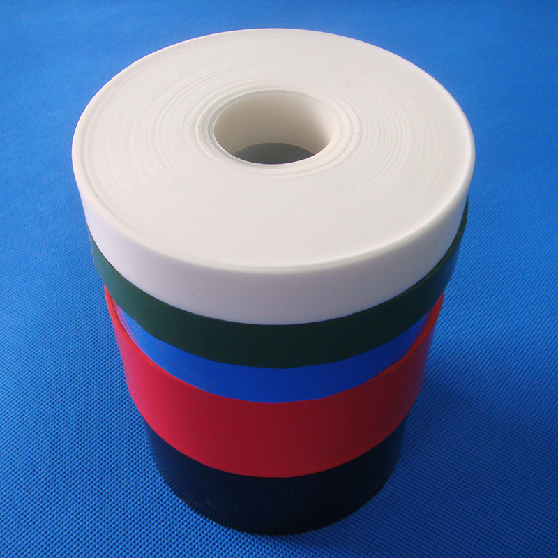 High Quality PTFE Material Tape Film 100% Virgin White Plastic 9002-84-0 genuine leather cutting machine 3m 9448 adhesive tape