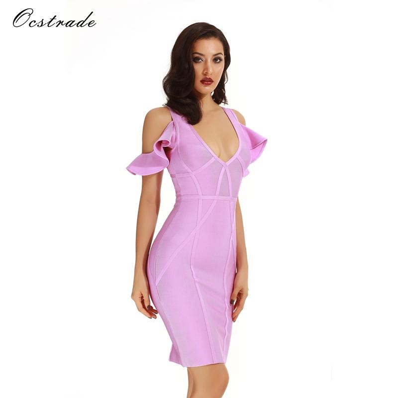 Venta al por mayor vestidos color lila-Compre online los mejores ...