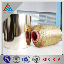 12 micron pet metalized film for m type yarn