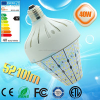 360 degree 12V 24V 110V 220V medium base edision mogul base Street LED 40W