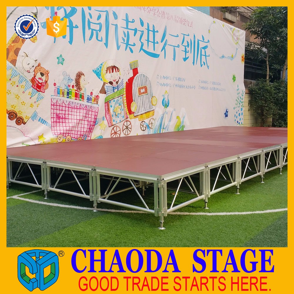 2016 Hot Selling Diy Portable Stage
