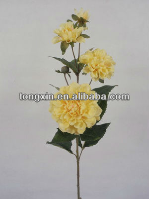 artificials head flower wrapping decorative mesh