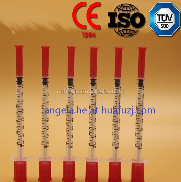 0.3 ml Disposable insulin syringe