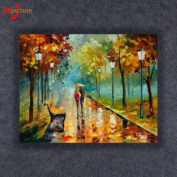 In Forest Whole Wall Art With Led Lights Canvas Print Lighted Animal Picture Ic Frameless Prints