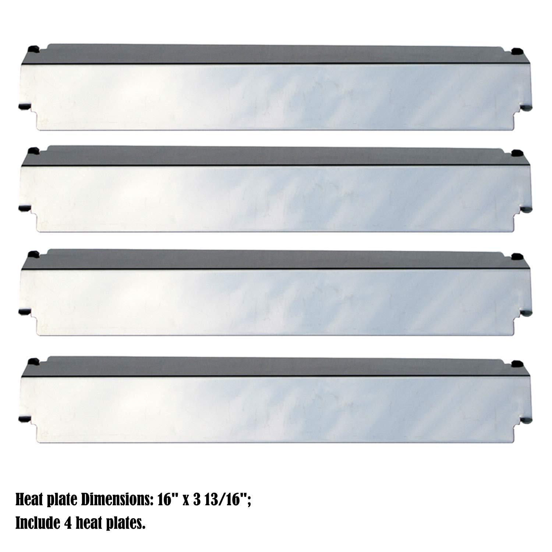 Kenmore 141.16221 Stainless Steel Heat Shield 4-PACK