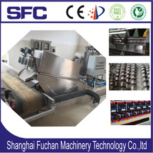 Sludge thickener & dewatering /dehydrator Screw Press for oily &grease slurry treatment