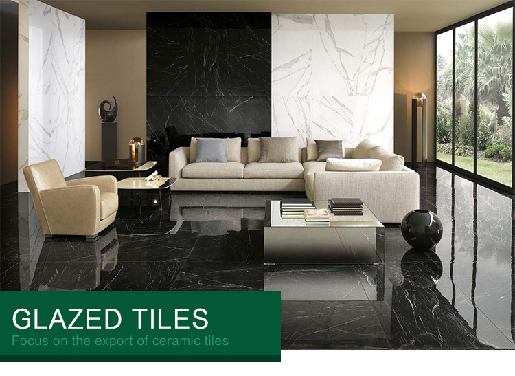 Flooring Polished Cheap Black Tile /china building material Hall Latest Design Interior Black 1200x600 floor Wall Tile