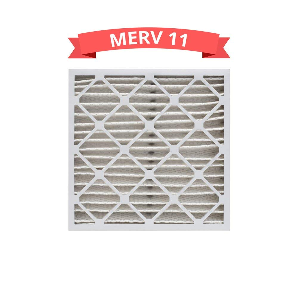 Replacement MERV 11 Pleated 16x20x4 Air Filters Compatible for Honeywell FC100A1003 (1 Pack)