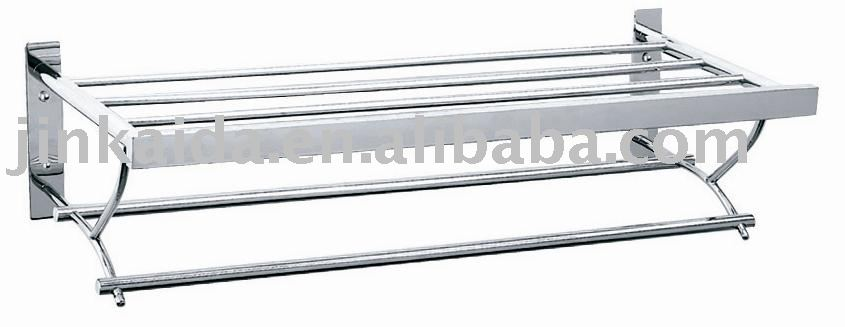 Stainless steel 2 tier Towel Rack B-010 stainless steel towel rack towel holder