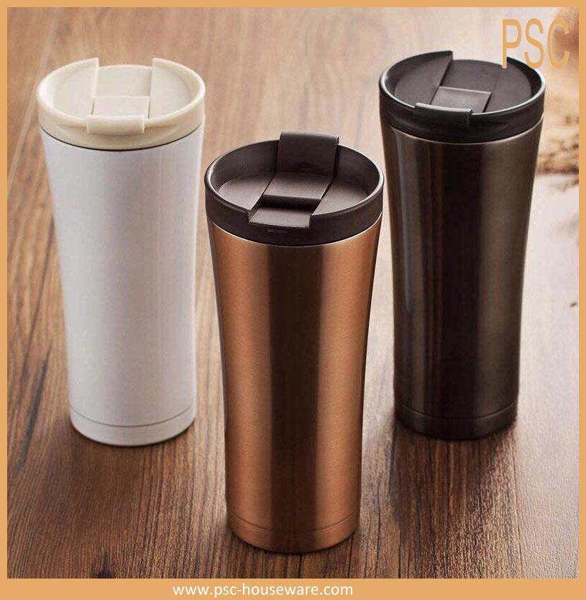 isol s sous vide pour aller mat noir caf tasse 500 ml bouteilles thermos thermos id de. Black Bedroom Furniture Sets. Home Design Ideas