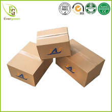 flexo printing top quality two colors custom logo design box carton packaging