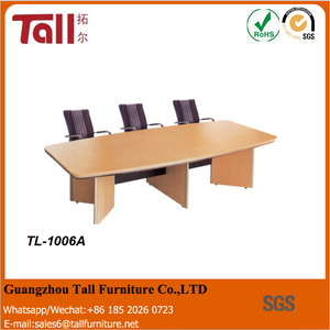 Funky office furniture executive office desk long wooden conference table
