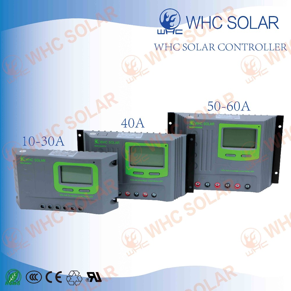 Whc 12 24v 30a Pwm Solar Charge Controller For Home Buy Controllers