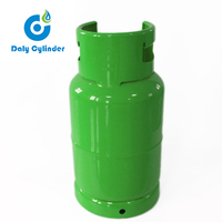 Steel Portable 15kg Empty Gas Tank LPG Cylinder for Sale