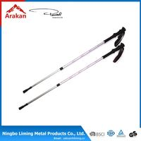 Excellent factory directly telescopic walking sticks with strap