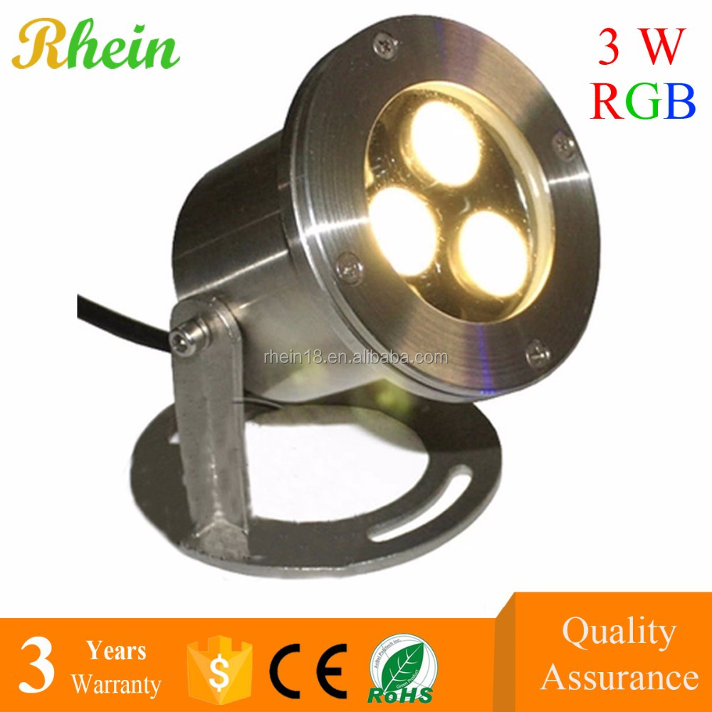 2016 New Safety Lighting Fixture 3pcs Lights Gree Colorful 3w ...