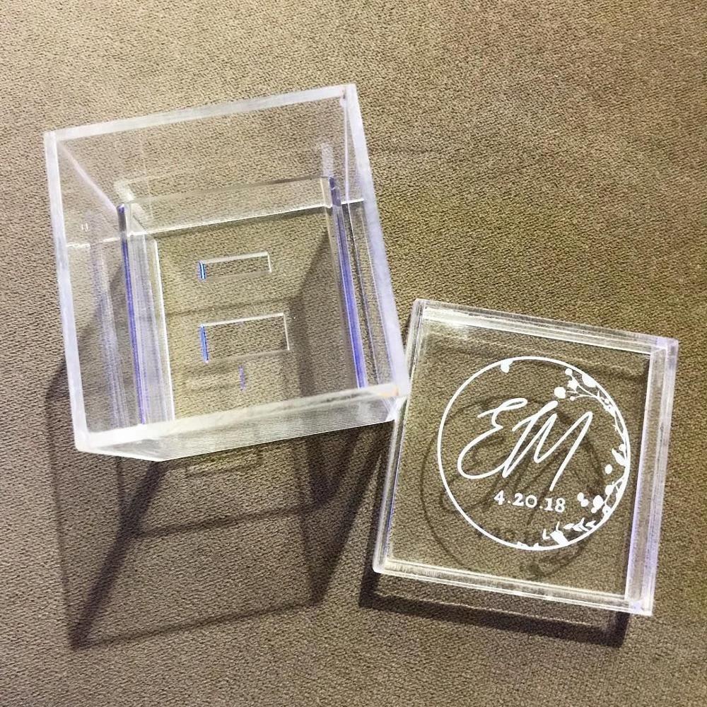 Wedding Ring Box.Custom Engraved Names Ring Box Acrylic Bearer Box For Wedding Buy Acrylic Bearer Box Acrylic Ring Box Acrylic Wedding Ring Box Product On