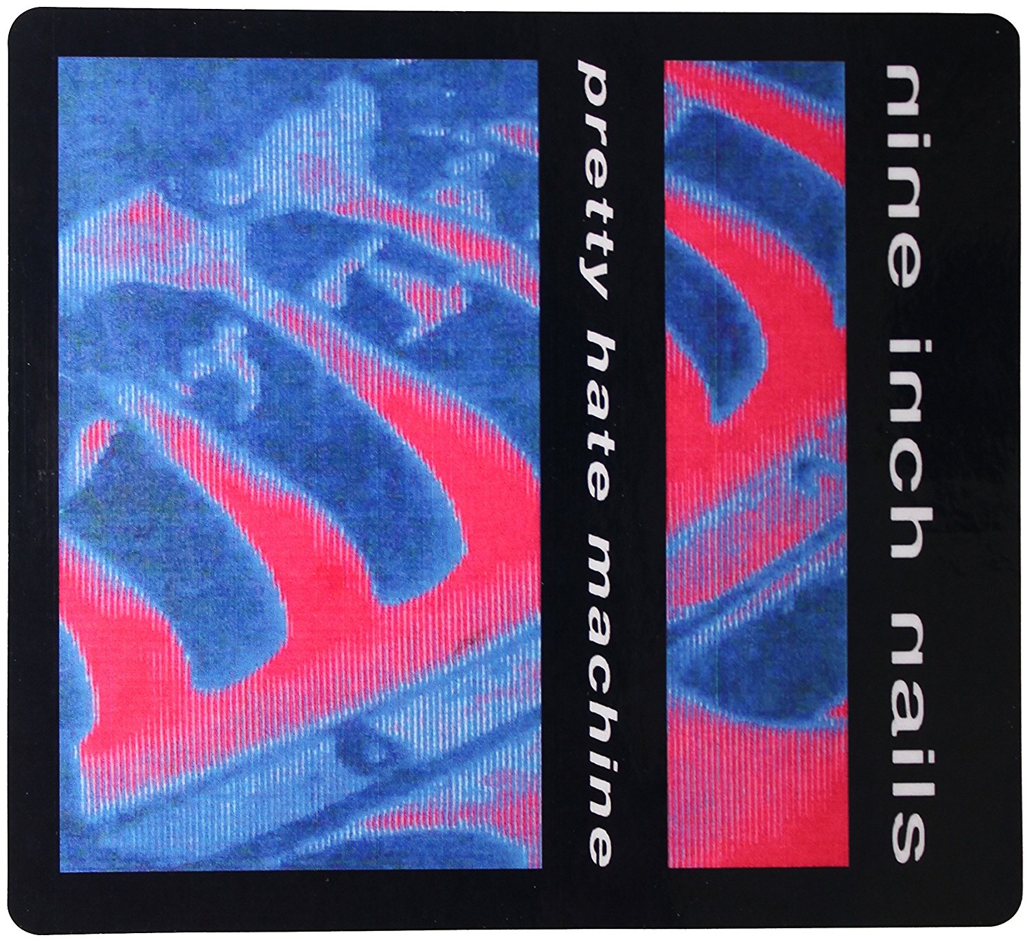 Buy Sticker Nine Inch Nails Pretty Hate Machine 1989 Release Album ...