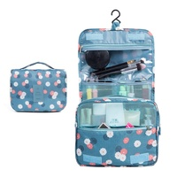 Hygiene Bag Bathroom Shower Organizer Kit Toiletries Cosmetics Makeup Bag Deluxe Premium Hanging Travel Toiletry Bag for Women