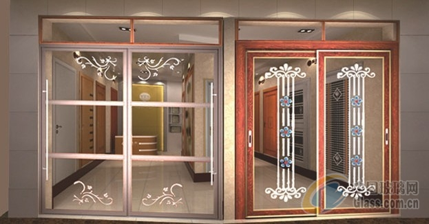 stainless steel glass door stainless steel sliding door