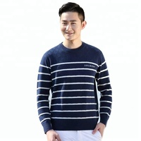 New Design Cashmere Men's Sweater Knitting Pattern Sale