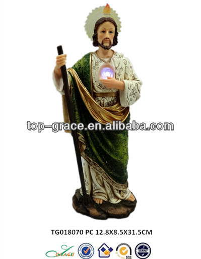 polyresin figurine jesus christ oil paintings