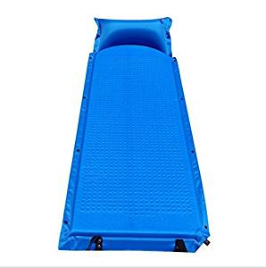 MHGAO Automatic inflatable outdoor camping mat/double//moisture/extended/thickening , blue , 185603cm