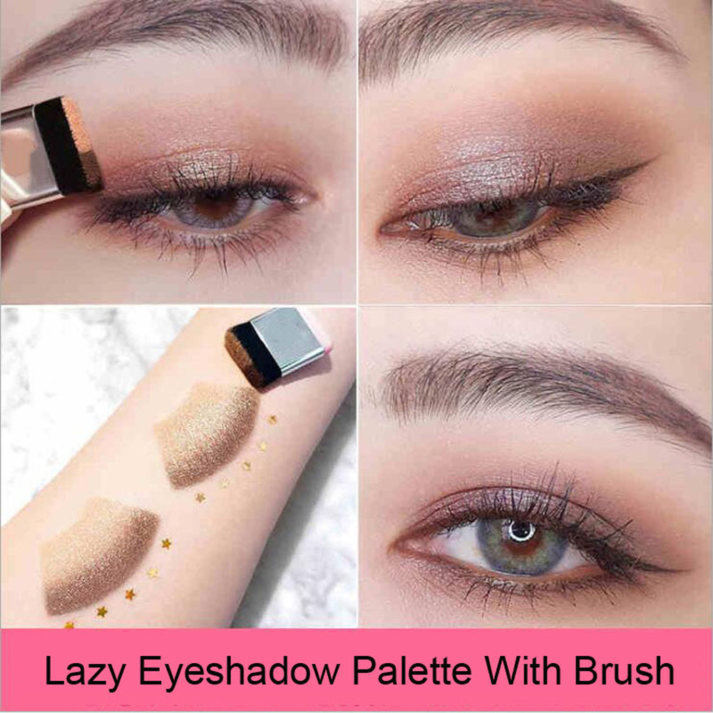 Back To Search Resultsbeauty & Health Popular Brand Two-tone Lazy Eye Shadow Shimmer Lasting Natural Make Up Seal Eye Shadow Gradient Pearl Eye Shadow With Brush Tslm1 Eye Shadow