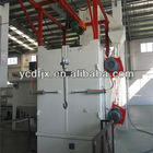 Q37single hook shot blasting machine/used for fitness equipment/rust removal shot blasting machine