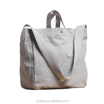 14 Oz Pigment Dyed Large Canvas Tote Bag