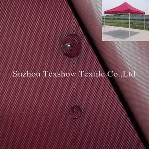 400D polyester for dome tent awning fabric/material [eco-friendly,non-toxic ]