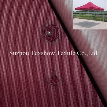 400D Polyester For Dome Tent Awning Fabric Material Eco Friendlynon